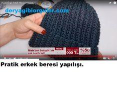Tek Yumakla Ombre Kazak Yapılışı | Deryagibiörgüler Knitting Needles, Crochet Hooks, Hats, Pullover, Pattern, Crochet, Hat, Sweaters, Hipster Hat
