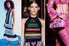 Crochê – Tendências do verão: modelos para fazer em casa com gráficos, receitas e looks para inspirar