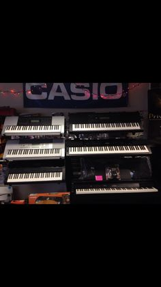 Keyboards for Sale ...CASIO dealer.               Tis the season for Giving the Gift of Music! Keyboards starting @ 59.95