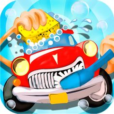Wash My Car Game for Kids Free to Download..!!!