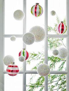 Ornament Window Dressing