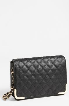 Quilted cross body bag. Such a great price.
