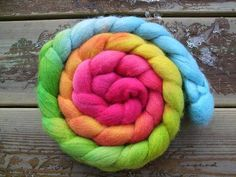 Candy roving!  Love it!