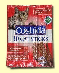 Herkkutikkuja kissoille, löytyy Lidlistä, kaikki maut käyvät. Ehdoton suosikki ja edullinen hinta!