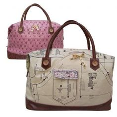 "Bag ""Needle & Thread"", Dotty Rose"