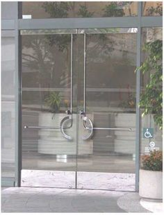 Panic Devices Are Interior Push Bars For Exterior Doors