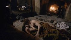 Women on Screen: Why We Need More Characters Like Outlander's Claire Fraser (Caitriona Balfe), seen here with Jamie Fraser naked (Sam Heughan)