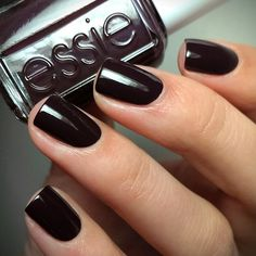 This deep romantic burgundy essie manicure is everything! Shop essie nail polish 'carry on' for a look that's always in style: http://www.essie.com/Colors/deeps/carry-on.aspx