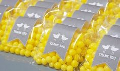 2013 Pantone Color | Lemon Zest - Lemon drop wedding favors -  #weddingfavors #lemon #food