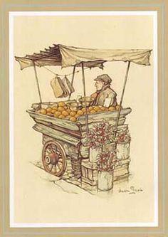 The Orange Seller (*)