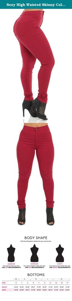 Sexy High Waisted Skinny Color Jeans. Look hot and sexy in these high waist skinny jeans. Made of durable yet stretchy material to hug your every curve. These amazing stretch jeans will not only enhance your curves, but will keep everything tight and slimming. Our jeans are vastly popular with versatile and edgy designs that can easily transition from daytime to evening. Find the best women's junior's jeans from ModaXpressOnline to fit your personal style. There's nothing more essential…