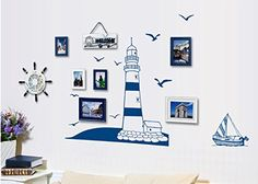 Lighthouse at the Beach Seaside Wall Sticker Wall Art Dec... https://www.amazon.co.uk/dp/B00VWWX4XU/ref=cm_sw_r_pi_dp_myxFxb4ZCY8FG