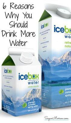 Find out some of the main reasons why you should drink more water in this nutrition article. Plus, in addition to learning about the health benefits of drinking water, find out about Icebox Water: a high-quality water using compostable, eco-friendly packaging (includes giveaway for Icebox Water!) ~ water giveaway ~ healthy living blog giveaway ~
