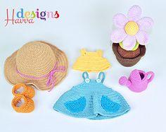 jurkje hoed gieter bloem tuinieren trui schoenen