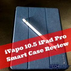 #happynewyear #newblogpost Check out our review of the iVapo Smart Case for the iPad Pro 10.5! If you are looking for a Smart Case, we have you covered!    #apple #smart #case #ipad #ipadpro #ivapo #smartcase #ipadcase #techtuesday