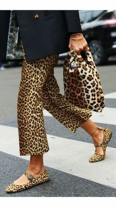 leopard print outfit