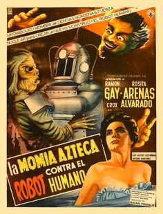The Robot vs. The Aztec Mummy movie poster