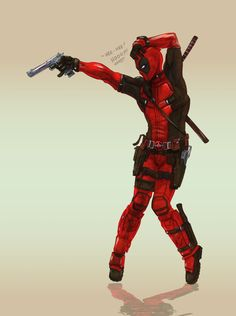 #Deadpool #Fan #Art. (DEADPOOL the king of POP POP POP!!!) By: ZachSatherArt. ÅWESOMENESS!!!™ ÅÅÅ+
