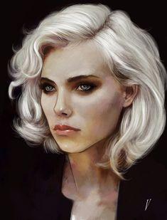blonde, Vince Rodriguez on ArtStation at https://www.artstation.com/artwork/wKll6