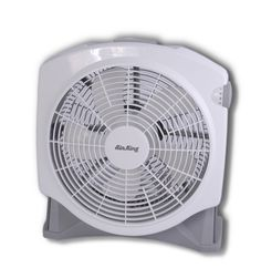 White Air King Fan So Strong And Compact