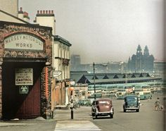 1964 at Woodside Ferry terminus Birkenhead.