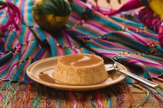 Un Postre tradicional Mexicano es sin duda el #Flan cubierto de Cajeta de Celaya, Mexico... vía @Candidman