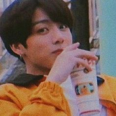 Image discovered by Find images and videos about bts, aesthetic and jungkook on We Heart It - the app to get lost in what you love. Jeon Jeongguk, Jungkook Aesthetic, Kpop Aesthetic, Orange Aesthetic, Aesthetic Clothes, Jung Kook, Bts Jungkook, Jungkook Fanart, Taehyung