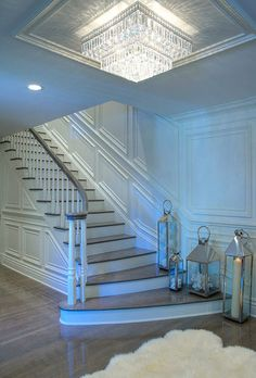Stunning entryway chandelier