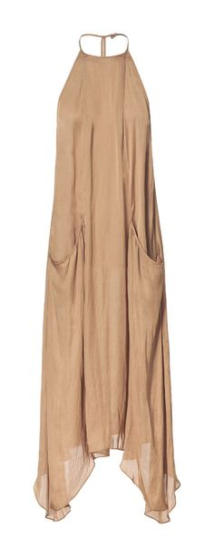 LONG DRESS WITH POCKETS - Dresses - Woman | ZARA United States