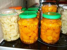 Kenyércsücsök: Befőzés géppel Stuffed Peppers, Vegetables, Food, Kochen, Meal, Stuffed Pepper, Essen, Vegetable Recipes, Hoods