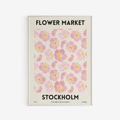 Matisse Cutouts, Abstract Flower Art, Flamingo Art, Pastel Watercolor, Exhibition Poster, Pink Beige, Flower Market, Graphic Design Branding, Wall Art Designs