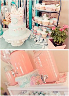 BRIDAL SHOWER - What a great theme for a bridal shower - Tiffany Vintage Garden Party