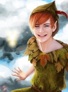Peter Pan, The Boy Who Never Grew Up by *FloorSteinz on deviantART