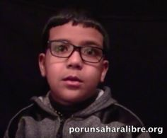 Kamal Laaroussi, 8 años, saharaui: mi padre es inocente