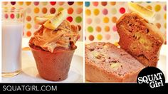 #healthydessert #eatclean #quinoamuffin #fitnessfood #getshredded #sixpack #goodcarbs #energykick check my blog for the recipe. there is *no butter *no sugar *no flour in this healthy quinoa muffin :) Quinoa Muffins, Get Shredded, Good Carbs, Dory, Banana Bread, Clean Eating, Butter, Nutrition, Sugar