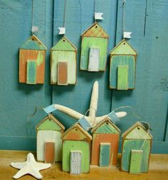 Decoration with small houses