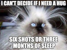 Haha.... there are these days! I'll take 3 months of sleep please ;)