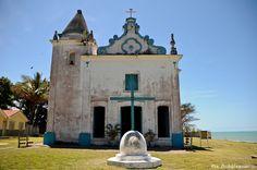 Porto Seguro - Bahia - Brasil. Uma das primeiras igrejas do Brasil, fica na cidade alta.