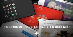5 nichos de redes sociales en ascenso