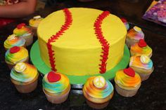 Bake me a Cake!: Peace Love Softball