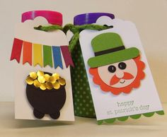 Stampin Up…  Great Idea for Non-Candy St. Patrick's Day Treats...