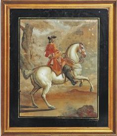 A GERMAN REVERSE GLASS PAINTING  LATE 18TH CENTURYhttp://www.christies.com/