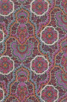 Design for a Paisley Shawl | George Haité | V&A Explore The Collections Textile Pattern Design, Textile Patterns, Textile Prints, Pattern Art, Fabric Design, Print Patterns, Print Wallpaper, Pattern Wallpaper, Zentangle