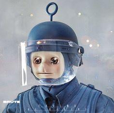Fatima Al Qadiri - Brute | More Album Covers: http://www.platendraaier.nl/platenhoezen/