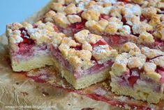 Smaczny kąsek: Kruche ciasto z truskawkami i mascarpone