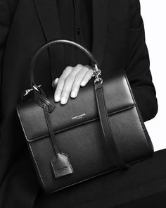 Bag Crush: Saint Laurent's Sleek Moujik Bag