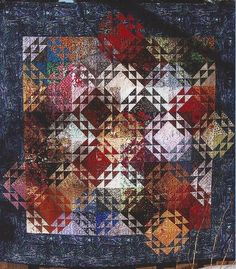 wow, this is beautiful: Walking on Water Quilt Pattern by Linda Marcou