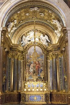 Cathedral Architecture, Sacred Architecture, Baroque Architecture, Catholic Art, Catholic Churches, St Jean Baptiste, Church Interior, Beautiful Bugs, Temples