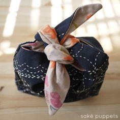 nani IRO Japanese fuccra sashiko stitching by Saké Puppets