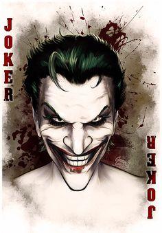 The Joker | Portfolio | ©2014 Gregbo WatsonThe Illustration Art of Gregbo Watson